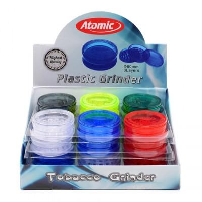 AT-Plastic Grinder 3Parts Ø60